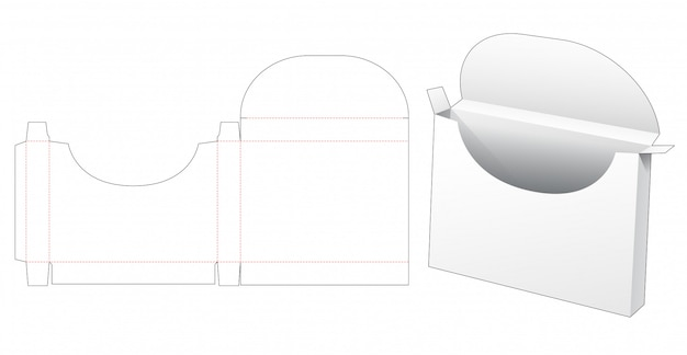 Шаблон упаковки для документов