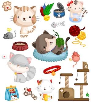 Набор изображений кошек