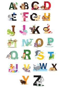 動物のアルファベット