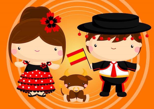 スペインのカップル