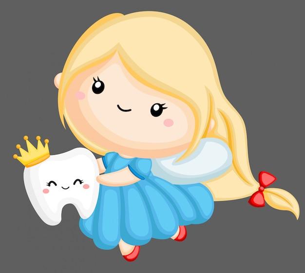 かわいい歯の妖精