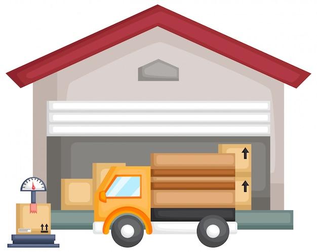 パッケージ倉庫