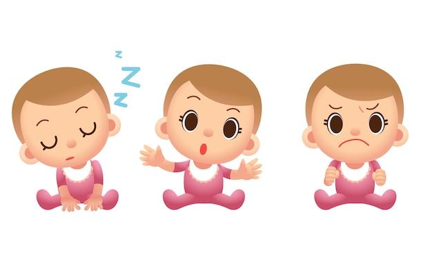 Симпатичные детские персонажи