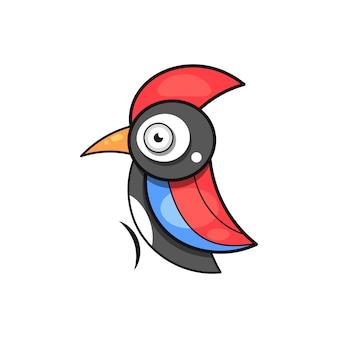 キツツキ、鳥の動物