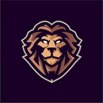 マッドライオンマスコットロゴ