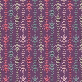 ストライプのシームレスな背景。織物柄プリントデザインカラフルな縞模様の民族のシームレスパターン。