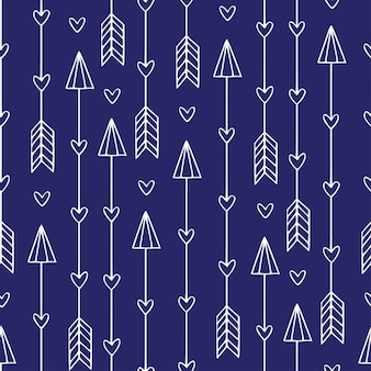 矢印とのシームレスなパターン