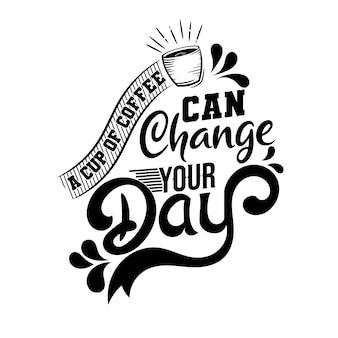 一つの小さな前向きな考えがあなたの日を変えることができます