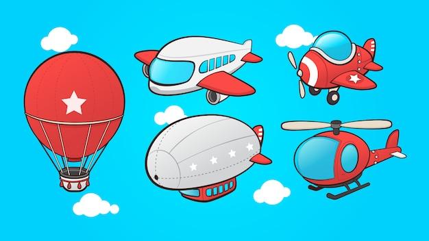 漫画の航空輸送