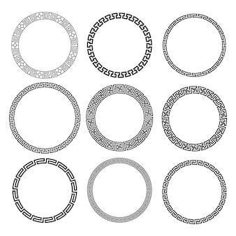 Круглый бесшовный круговой круг