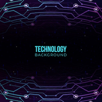 Технология градиентного фона