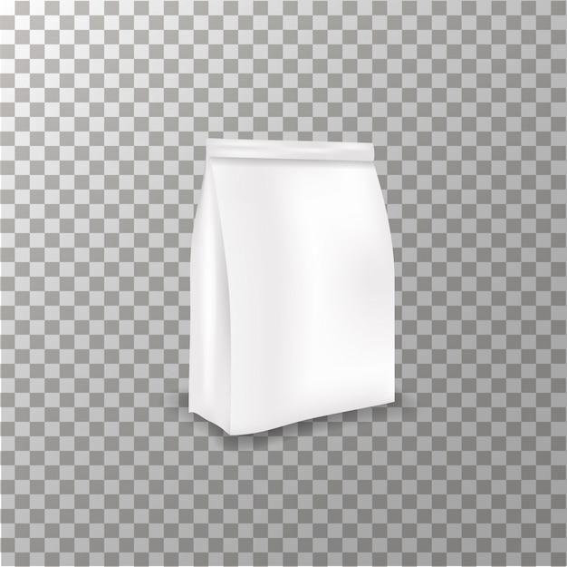 透明な背景のクリームチューブモックアップベクトル。