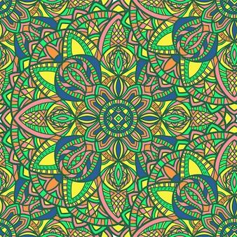 抽象的な形のマンダラ