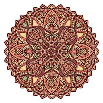 マンダラ、部族の飾り。