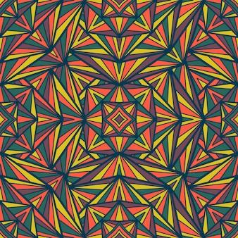 Мандала вектор бесшовные модели. племенной орнамент.