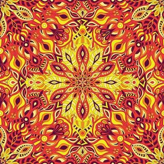 マンダラベクトル飾りパターン