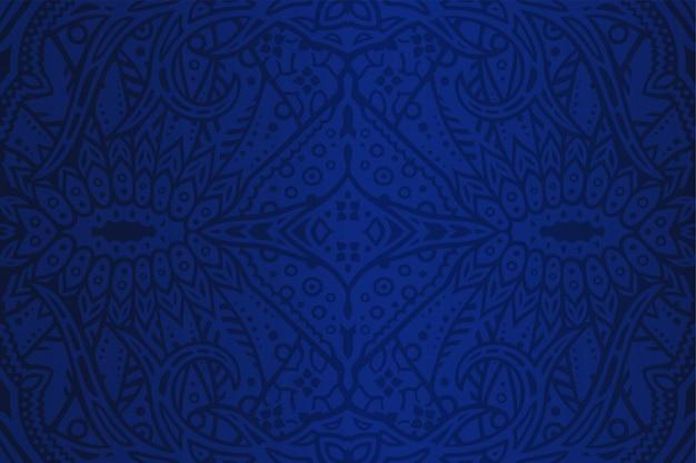 カラフルなブルーアートの背景