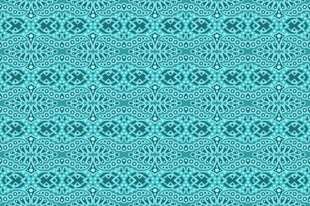 シームレスな線形パターンと光の青アート
