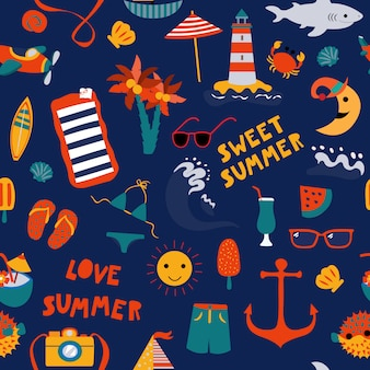 夏の海の青を印刷