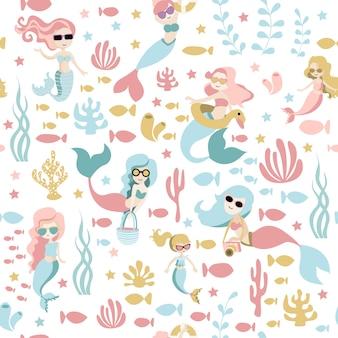 人魚のパターン