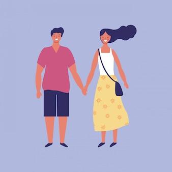 Мультфильм молодая пара