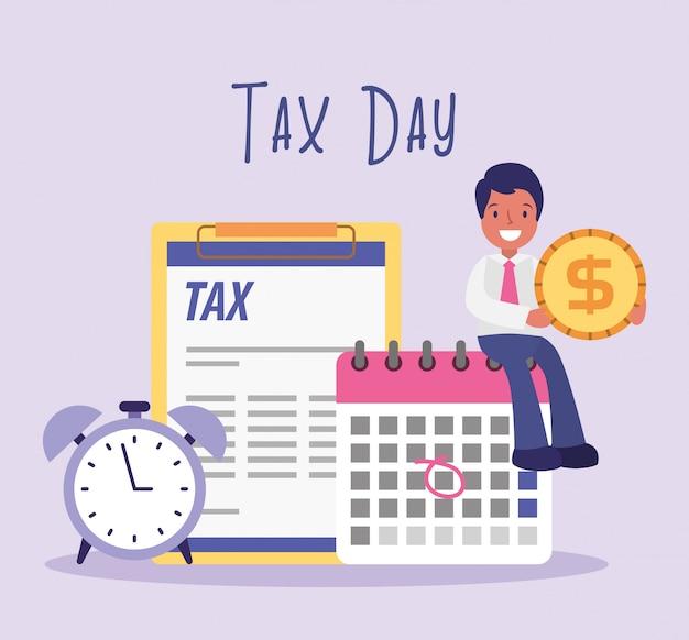 税金日実業家漫画