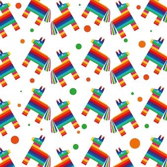 メキシコの背景パターン