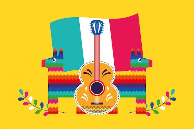 メキシコの漫画カード