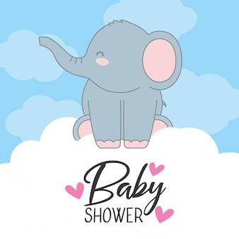 ベビーシャワーの招待状