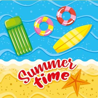 Карта летнего и праздничного времени