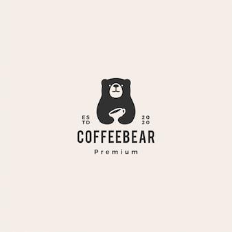 Медведь кофе логотип