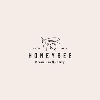 Логотип медового пчелы