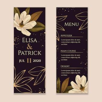 Магнолия свадебное меню