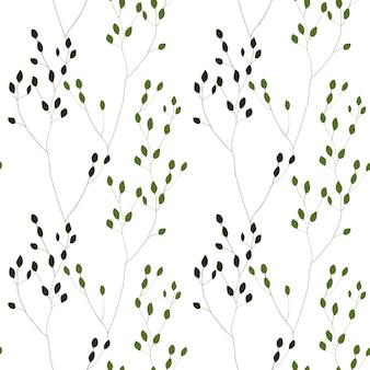 Зеленые романтические сорняки