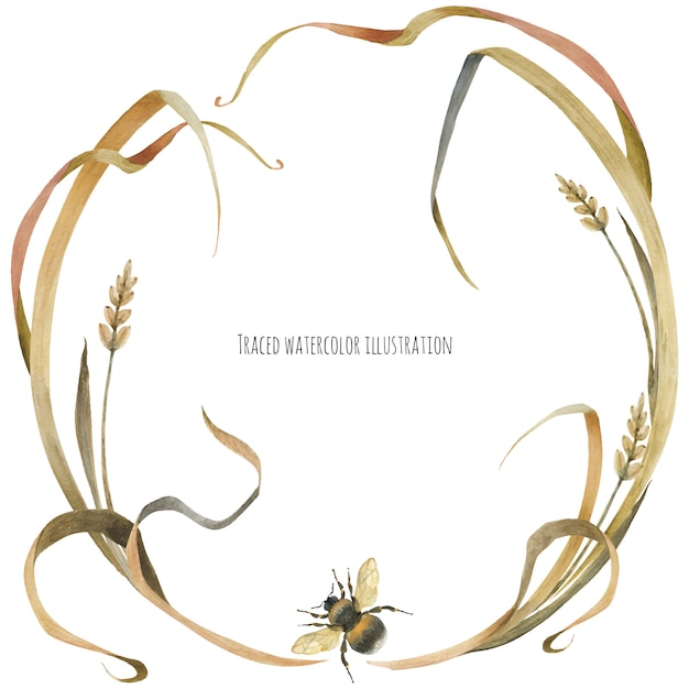マルハナバチと植物のエコデザインリース