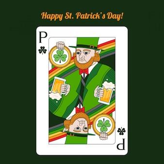 День святого патрика игральные карты