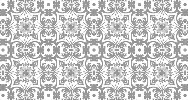 グレー色のシームレスパターン