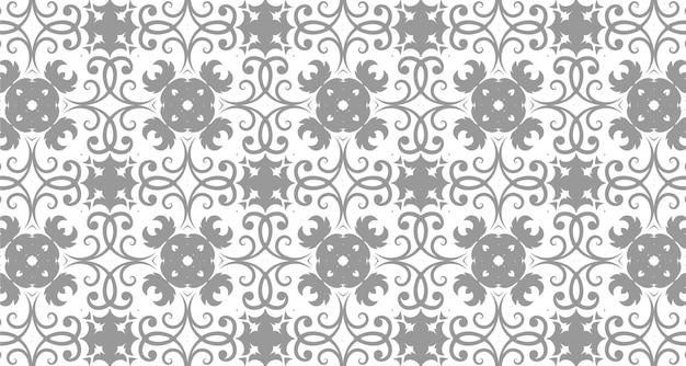 装飾的なシームレスパターン背景