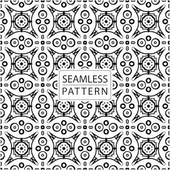 Бесшовные модели. орнаментальная плитка в стиле батик. традиционный элегантный мотив