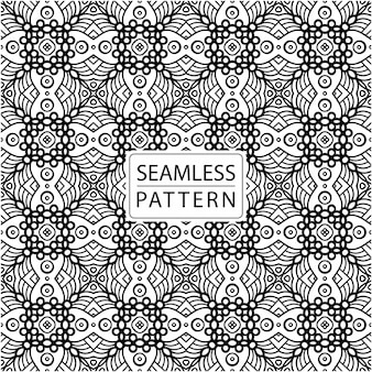 Роскошный бесшовный образец. традиционный элегантный дизайн с мотивами