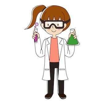 科学者の女性