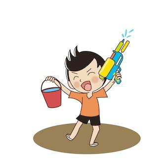 タイ水祭り