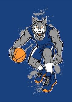 オオカミバスケットボール