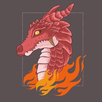ドラゴンの火