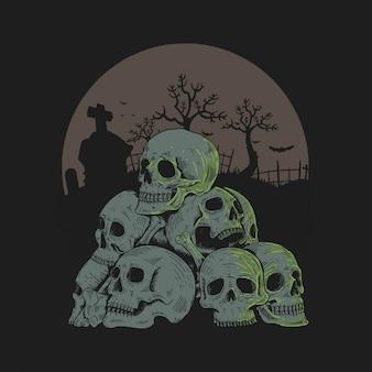 頭蓋骨の悪夢