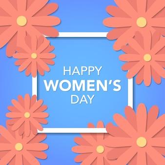 株式ベクトル国際女性の日テンプレート