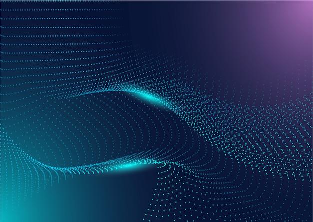Технология футуристическая схема цифровой фон