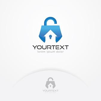ホームセキュリティシステムのロゴ