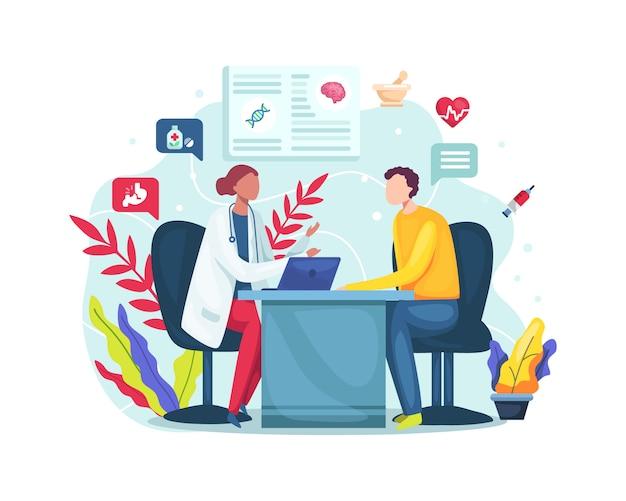 Консультация в офисе клиники