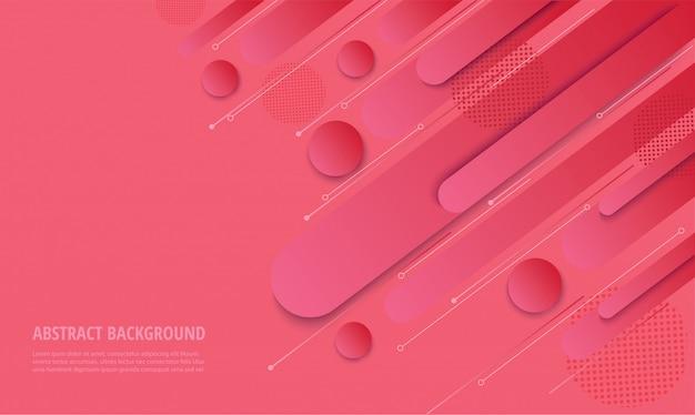 モダンなピンクのグラデーションのトレンディな背景